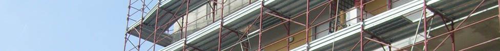 Elenco dei cantieri presso cui abbiamo lavorato